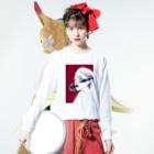 Aimiのフラワーガール Long sleeve T-shirtsの着用イメージ(表面)