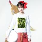 kawachu5の黒蜻蛉 Long sleeve T-shirtsの着用イメージ(表面)