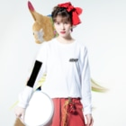 pinkchan053のARMY DNA Long sleeve T-shirtsの着用イメージ(表面)