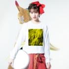 Born to Burnの炎01-02 Long Sleeve T-Shirtの着用イメージ(表面)