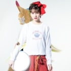 ZAZY official shopの肘ひじき Long sleeve T-shirtsの着用イメージ(表面)