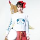 加藤亮の電脳チャイナパトロール Long Sleeve T-Shirtの着用イメージ(表面)