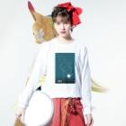 CoCoCotのUranus/天王星<みたか太陽系ウォーク応援!> Long sleeve T-shirtsの着用イメージ(表面)