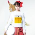 TuneBsideのNO BEER, NO LIFE ! Long sleeve T-shirtsの着用イメージ(表面)