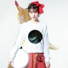 WEAR YOU AREの熊本県 球磨郡 ロングスリーブTシャツ Long sleeve T-shirtsの着用イメージ(表面)