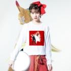 niodio(ニオディオ)のローリングソバット Long sleeve T-shirtsの着用イメージ(表面)