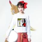 櫻井保幸 yasuyuki sakuraiのplease,please,please Long sleeve T-shirtsの着用イメージ(表面)
