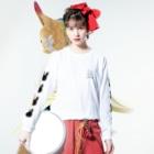 かっきーJapanのUTANロンT Long sleeve T-shirtsの着用イメージ(表面)