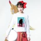 COC-CHANの夢の旅 Long sleeve T-shirtsの着用イメージ(表面)