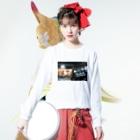 ASAKUSA'S(デリバリー配達員アカウント)のfadfa Long Sleeve T-Shirtの着用イメージ(表面)