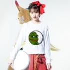 サンタルヌーのPEPE-BIG Long sleeve T-shirtsの着用イメージ(表面)