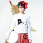 SO-yanの未来からの手_1885 Long sleeve T-shirtsの着用イメージ(表面)