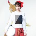 YükaCh!ka(ユカチカ)の切り替えし-1 Long sleeve T-shirtsの着用イメージ(表面)