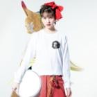 鯔背屋の竜家紋 Long sleeve T-shirtsの着用イメージ(表面)
