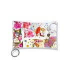 ボールペン【ボールペン画と可愛い動物】のボールペン画と可愛い動物 Mini Clear Multipurpose Case