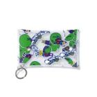 フクハラアキコの【audace × フクハラアキコ】フンコロガッソ & audace総柄 Mini Clear Multipurpose Case