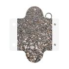 古春一生(Koharu Issey)の海辺の石たち。 Mini Clear Multipurpose Case