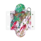 HIROHASHI SACHIの赤緑 Mini Clear Multipurpose Case
