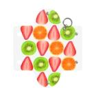 いちごパフェとか。のキウイとオレンジといちご Mini Clear Multipurpose Case