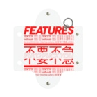 FEATURES STOREのFUYO FUCK YOU_CASE Mini Clear Multipurpose Case