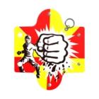 ジャマイカ再発クオリティの左手をグーにしてる人 Mini Clear Multipurpose Case