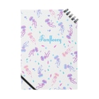 Fanfleecyのjelly fish(white) Notes