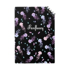 Fanfleecyのjelly fish(black) Notes