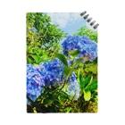 Una Villa Shopの紫陽花ブルー Notes