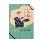 新井リオの【2019.04.01】新井リオの英語日記グッズ Notebook