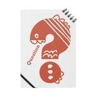 〈サチコヤマサキ〉ショップのクエスチョンの魚(オレンジ) Notes