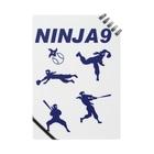 キッズモード某のNINJA9 Notes