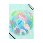 mountain-gardenのmermaid mintノート