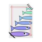 手描きのエトセトラの魚たち Notes