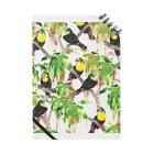 🌿kacyouen🌿の鳥(サンショクキムネオオハシ) Notes