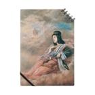 世界の絵画アートグッズの山本芳翠《十二支 丑『牽牛星』》 Notebook