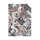 SILVERWOLFMENmixculturedesinの2018-19NEW「スクラップ」 Notes