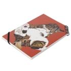 樽猫堂  安部円子の猫「ぐりこ1号」 Notebookの平置き