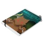 webookerの人狼(ホラーテイスト) Notebookの平置き