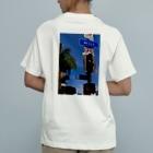 チルTショップのCalifornian Hill(バックプリント) Organic Cotton T-shirts