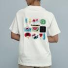 すとろべりーガムFactoryの【バックプリント】 ドットSummer Organic Cotton T-shirts