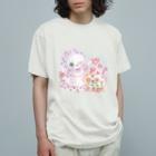 メルティカポエミュウのらずまりーにゃ Organic Cotton T-shirts