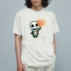 *suzuriDeMONYAAT*の愛してガイコッチャAB Organic Cotton T-Shirt