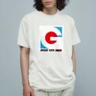 有明ガタァ商会の有明ガタァ組合ロゴ Organic Cotton T-shirts
