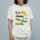 OJIKのいもいも集合 Organic Cotton T-Shirt
