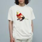 まめるりはことりのごきげん着物セキセイインコ【まめるりはことり】 Organic Cotton T-shirts
