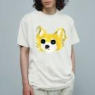 古屋智子(TomokoFuruya)のわんこの茶色ちゃん Organic Cotton T-shirts