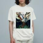 なまらやの古靴から靴下 Organic Cotton T-shirts