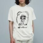オガサワラミチのつのだす Organic Cotton T-shirts