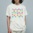 紙単衣 - kamihitoe -のカラフルポップ水引梅結び Organic Cotton T-shirts