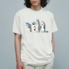 mofusandのサメ図鑑 Organic Cotton T-shirts